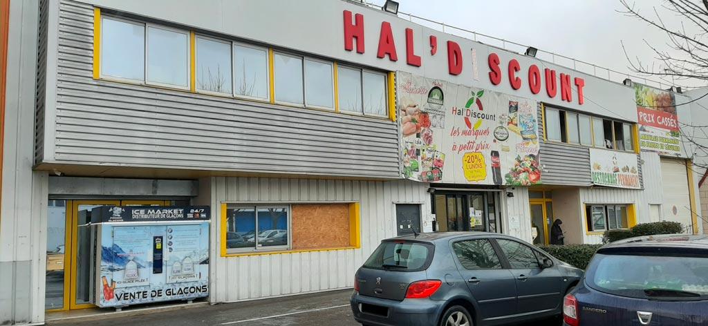 Distributeur automatique de glaçons et glace pilée hal'discount villepinte