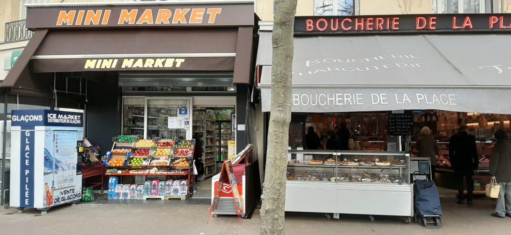 Distribteur-automatique-de-glaçons-et-glace-pilée-mini market Paris 12e