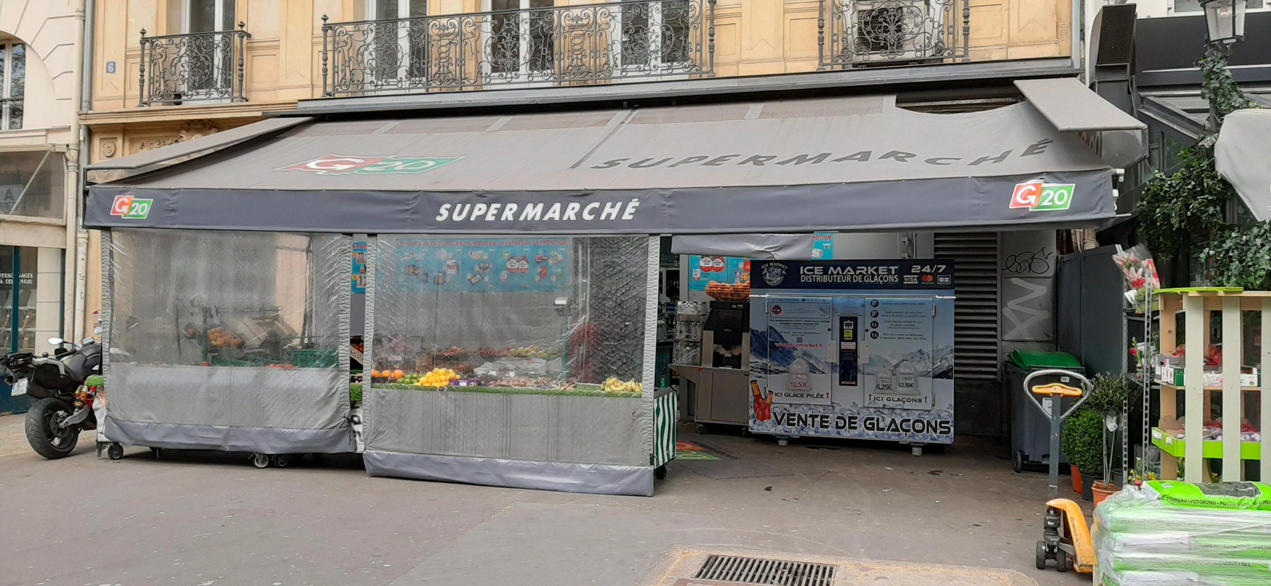 Distribteur-automatique-de-glaçons-et-glace-pilée-supermarche-g20-Paris10e